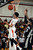 DENVER, CO. - FEBRUARY 02: Ronnie Harrell of East High School #25 controls the rebound in the second half of the game against Montbello High School on February 2, 2013 at Manual High School in Denver, Colorado. East won 66-37. (Photo By Hyoung Chang/The Denver Post)