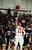 DENVER, CO. - FEBRUARY 02: Brian Carey of East High School #11 jumps for the basket in the second half of the game against Montbello High School on February 2, 2013 at Manual High School in Denver, Colorado. East won 66-37. (Photo By Hyoung Chang/The Denver Post)