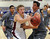 LITTLETON, CO. - MARCH 6: Chatfield senior Blake Truman (20) lost the ball as he drove the lane in the second half. The Legend High School boy's basketball team upset Chatfield 51-49  in a playoff game Wednesday night, March 6, 2013. (Photo By Karl Gehring/The Denver Post)