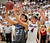 LITTLETON, CO. - MARCH 6: Legend point guard Jonathon Cosmann (23) made a move past Chatfield guard Andrew St.Germain (4) in the first half. The Chatfield High School boy's basketball team hosted Legacy in a playoff game Wednesday night, March 6, 2013. (Photo By Karl Gehring/The Denver Post)
