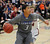 LITTLETON, CO. - MARCH 6: Legend shooting guard Elijah Cherrington (3) looked for an opening in the first half. The Chatfield High School boy's basketball team hosted Legacy in a playoff game Wednesday night, March 6, 2013. (Photo By Karl Gehring/The Denver Post)