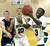 Buffaloes guard Nick Turner 93) drove to the basket in the second half. The Kent Denver High School boy's basketball team defeated Bishop Machebeuf 77-75 Tuesday night, January 15, 2013. Karl Gehring/The Denver Post