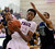 Trailblazers forward Andrew Tillman (11) grabbed a rebound in the first half. The Cherokee Trail boy's basketball team defeated Overland 59-57 Friday night, January 11, 2013. Karl Gehring/The Denver Post