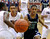Overland guard Austin Conway (15) lost the ball out of bounds in the second half. The Cherokee Trail boy's basketball team defeated Overland 59-57 Friday night, January 11, 2013. Karl Gehring/The Denver Post
