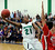 Blazers guard Reginald Gibson (21) lobbed  a shot over Regis defender Kip Borya (44) in the second half. The Overland High School boy's basketball team defeated Regis Jesuit 80-66 Tuesday night, December 11, 2012.  Karl Gehring/The Denver Post