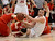 Chaparral's Mitch Parsons (42) scrambles for a loose ball against Brighton during the first quarter February 27, 2013. (Photo By John Leyba/The Denver Post)