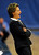 PARKER, CO. - FEBRUARY 15: Highlands Ranch coach Caryn Jarocki offered her advice from the bench in the first half. The Legend High School girls's basketball team hosted Highlands Ranch Friday night, February 15, 2013. (Photo By Karl Gehring/The Denver Post)