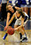PARKER, CO. - FEBRUARY 15: Ranch junior guard Sarah Powner (3) pressured Titans guard Kristen Gallagher (3) in the second half. The Highlands Ranch High School girls's basketball team defeated Legend 76-31 Friday night, February 15, 2013. Falcon's coach Caryn Jarocki earned her 500th career win. (Photo By Karl Gehring/The Denver Post)
