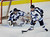 DENVER, CO. - FEBRUARY 28: Mustangs defenseman Nick Wiemelt (25) cleared the puck from in front of Tyler Anderson's net in the second period. Ralston Valley High School took on Resurrection Christian Thursday night, February 28, 2013 in a semifinal match in the Colorado State Ice Hockey Championships at Magness Arena in Denver. (Photo By Karl Gehring/The Denver Post)