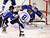 DENVER, CO. - FEBRUARY 28: Mustangs forward Tanner West (8) tried to get a shot on net in the second period. Ralston Valley High School took on Resurrection Christian Thursday night, February 28, 2013 in a semifinal match in the Colorado State Ice Hockey Championships at Magness Arena in Denver. (Photo By Karl Gehring/The Denver Post)