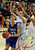 Eagles center Brandon Hull (33) looked for the basket in the first half. The Lewis-Palmer High School boy's basketball team defeated Broomfield 75-53 Friday night, December 7, 2012.  Karl Gehring/The Denver Post