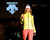 Descente  yellow and black puff jacket and  snow gear, as the SIA Snow Show hosted its 2013 Snow Fashion & Trends Show at the Colorado Convention Center  in downtown Denver  on Wednesday, January 30, 2013.  (Photo By Cyrus McCrimmon / The Denver Post)