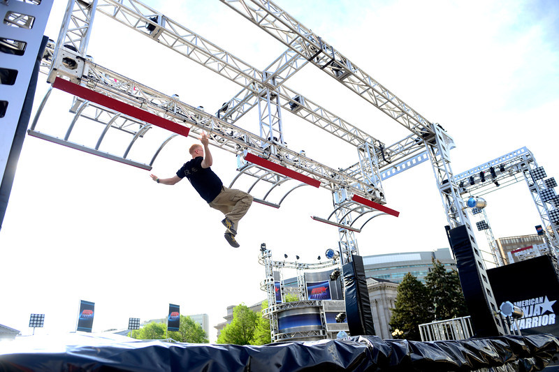 American Ninja Warrior tryouts in Denver