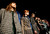 Models present creations during the Charlotte Ronson Fall 2013 presentation at New York Fashion Week in New York, February 8, 2013.  REUTERS/Carlo Allegri
