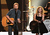 Dierks Bentley and Kimberly Perry of The Band Perry onstage at The GRAMMY Nominations Concert Live!! held at Bridgestone Arena on December 5, 2012 in Nashville, Tennessee.  (Photo by Kevin Winter/Getty Images)