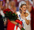 Miss New York Mallory Hytes Hagan reacts as she is crowned Miss America 2013 on Saturday, Jan. 12, 2013, in Las Vegas. (AP Photo/Isaac Brekken)
