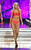 Miss Florida Laura McKeeman competes in the swimsuit portion of the Miss America 2013 pageant on Saturday, Jan. 12, 2013, in Las Vegas. (AP Photo/Isaac Brekken)