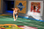 Dogs make their first enterance on the field during Puppy Bowl IX(Photo credit: Animal Planet)