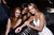 NEW YORK, NY - FEBRUARY 12: (L-R) Models Cintia Dicker, Adaora, and Jessica Perez attend as Sports Illustrated celebrates SI Swimsuit 2013 with a star-studded kickoff event at Crimson on February 12, 2013 in New York City.  (Photo by Michael Loccisano/Getty Images for Sports Illustrated)