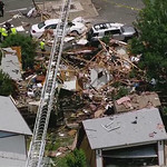 Photos: House explosion in Westminster