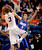 Boise State's Anthony Drmic (3) shoots over Air Force's Marek Olesinski (0) during the second half of an NCAA college basketball game, Wednesday, Feb. 20, 2013, in Boise, Idaho. Boise State won 77-65. (AP Photo/Matt Cilley)