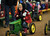 Shiloh LeVos, 3, of Evergreen is pedaling during the tractor race at Ames Activity Pavilion of 2013 National Wester Stock Show on Tuesday. Denver. CO, January 15, 2013.  Hyoung Chang, The Denver Post