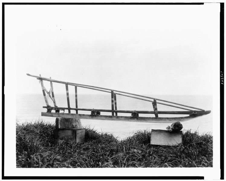 Description of  Title: Sled, Nunivak.  <br />Date Created/Published: c1929.  <br />Photograph by Edward S. Curtis, Curtis (Edward S.) Collection, Library of Congress Prints and Photographs Division Washington, D.C.