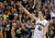 California forward David Kravish (45) celebrates in front of Colorado guard Spencer Dinwiddie (25) after an NCAA college basketball game in Berkeley, Calif., Saturday, March 2, 2013. California won 62-46. (AP Photo/Jeff Chiu)
