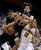 Colorado forward Josh Scott, left, grabs a rebound next to guard Sabatino Chen (23) and California guard Brandon Smith (12) during the first half of an NCAA college basketball game in Berkeley, Calif., Saturday, March 2, 2013. (AP Photo/Jeff Chiu)