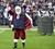 Santa Claus opens his coat to reveal a Matt Schaub jersey at Reliant Stadium on December 16, 2012 in Houston, Texas. Texans win 29-17 to clinch the AFC South. (Photo by Bob Levey/Getty Images)