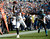 Denver Broncos tight end Joel Dreessen (81) catches a pass on Carolina Panthers strong safety Charles Godfrey (30) during the third quarter Sunday, November 12, 2012 at Bank of America Stadium.  John Leyba, The Denver Post