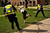 Officers chase Nathan Ryan, 20, as he makes a break for the closed Norlin Quad on the University of Colorado Boulder campus. The quad was roped off to prevent pro-marijuana protesters from smoking at the school in Boulder, Colorado on Friday, April 20, 2012. Joe Amon, The Denver Post