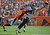 Denver Broncos strong safety Mike Adams defends a pass to the Houston Texans' Owen Daniels during the second quarter of play at Sports Authority Field at Mile High in Denver, CO Sunday September 23, 2012.  John Leyba/The Denver Post