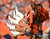 Denver Broncos cheerleaders perform a routine during the second quarter of play against the Houston Texans at Sports Authority Field at Mile High in Denver, CO on Sunday, September 23, 2012.  Joe Amon/The Denver Post