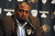 Colorado buffaloes head coach Jon Embree is tearful as  he meets with members of the media in a conference room at Dal Ward to talk about his recent firing November 26th, 2012.  He was fired late last night after only two years as head coach of the Buffs.  Helen H. Richardson, The Denver Post