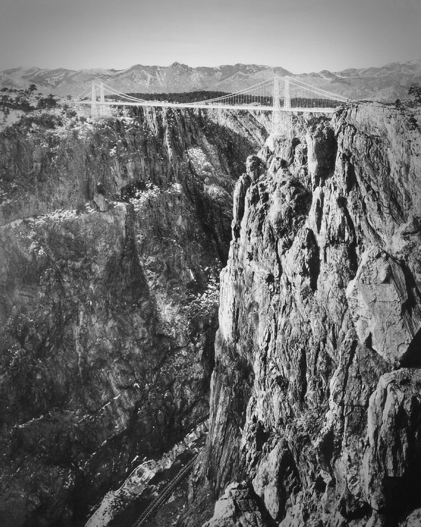 . The Royal Gorge. (From the Denver Post Archive)