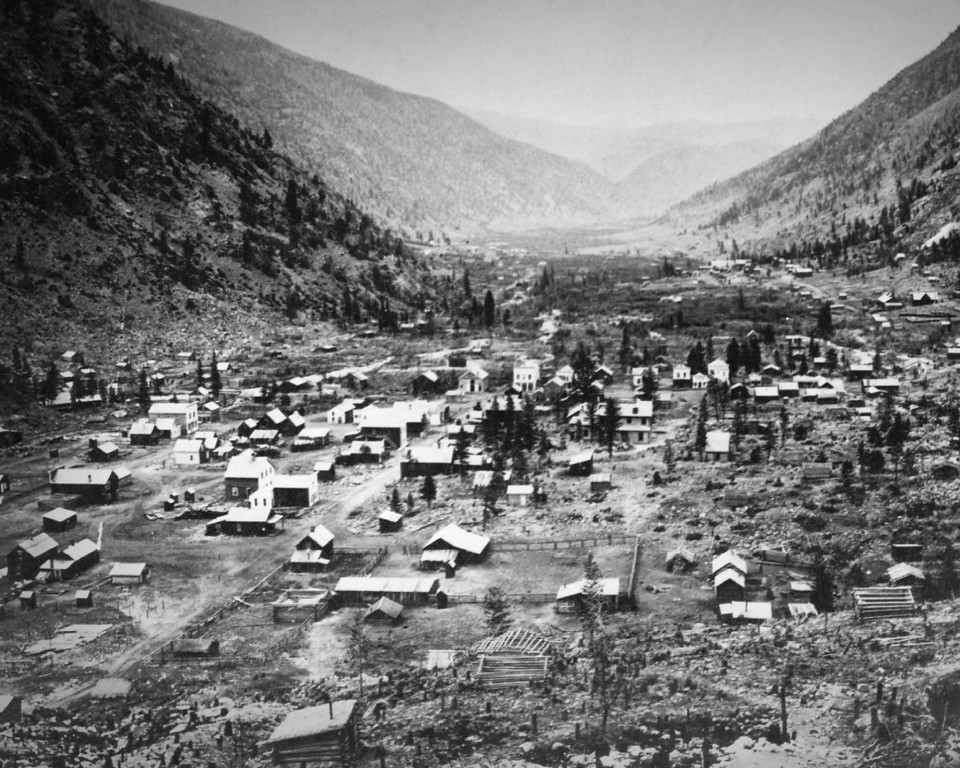 . Georgetown, Colorado in 1860\'s. (From the Denver Post Archive)