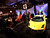 Attendees view Lamborghini SpA vehicles at The Gallery in the MGM Grand Detroit ahead of the 2013 North American International Auto Show (NAIAS) in Detroit, Michigan, U.S., on Saturday, Jan. 12, 2013. The Detroit auto show runs through Jan. 27 and will display over 500 vehicles, representing the most innovative designs in the world. Photographer: Jeff Kowalsky/Bloomberg
