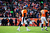 Denver Broncos quarterback Peyton Manning (18) walks towards the sidelines after throwing an interception in the first quarter. The Denver Broncos vs Baltimore Ravens AFC Divisional playoff game at Sports Authority Field Saturday January 12, 2013. (Photo by AAron  Ontiveroz,/The Denver Post)