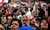 Egyptian protesters chant slogans against President Mohammed Morsi in Tahrir Square in Cairo, Egypt, Tuesday, Nov. 27, 2012. Egyptians flocked to Cairo's central Tahrir square on Tuesday for a protest against Egypt's president in a significant test of whether the opposition can rally the street behind it in a confrontation aimed at forcing the Islamist leader to rescind decrees that granted him near absolute powers. (AP Photo/ Khalil Hamra)