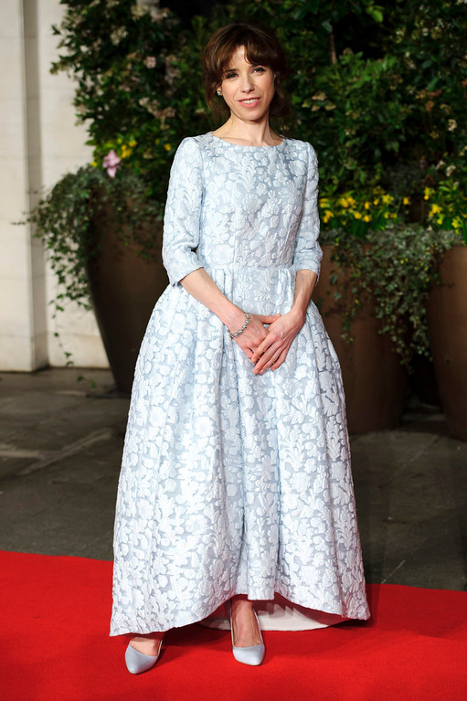 ". 2014 Academy Award Nominee for Best Actress in a Supporting Role: Sally Hawkins in ""Blue Jasmine.\"" (Photo by Jonathan Short/Invision/AP)"