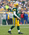 Green Bay Packers quarterback Aaron Rodgers walks after being hit by the Minnesota Vikings during the first half of a NFL football game in Green Bay, Wisconsin December 2, 2012. REUTERS/Darren Hauck