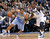 Denver Nuggets guard Andre Miller (L) drives to the basket as Dallas Mavericks guard Dominique Jones defends during the second half of their NBA basketball game in Dallas, Texas December 28, 2012.  REUTERS/Mike Stone (UNITED STATES - Tags: SPORT BASKETBALL)
