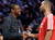Actor Chris Tucker, left, and Tony Parker of the San Antonio Spurs talk during NBA basketball All-Star Saturday Night, Feb. 16, 2013, in Houston. (AP Photo/Eric Gay)