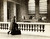 A woman with a suitcase stands at the top level of Grand Central Station in New York City in this undated handout photo. It made its debut in the heyday of cross-country train travel, faced demolition in the era of the auto, and got a new lease on life with a facelift in its eighth decade. Now Grand Central Terminal, the doyenne of American train stations, is celebrating its 100th birthday. Opened on Feb. 2, 1913, when trains were a luxurious means of traveling across America, the iconic New York landmark with its Beaux-Arts facade is an architectural gem, and still one of America's greatest transportation hubs. REUTERS/Bettmann Archive/Corbis