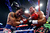 Manny Pacquiao, left, and Juan Manuel Marquez exchange blows during their welterweight bout at the MGM Grand Garden Arena on December 8, 2012 in Las Vegas, Nevada.  (Photo by Al Bello/Getty Images)
