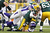 Aaron Rodgers #12 of the Green Bay Packers gets sacked by Jared Allen #69 of the Minnesota Vikings during the game at Lambeau Field on December 2, 2012 in Green Bay, Wisconsin. The Packers won 23-14. (Photo by Joe Robbins/Getty Images)