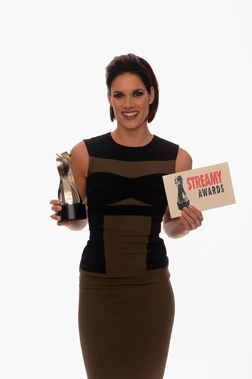 Description of . Actress Missy Peregrym poses for a portrait in the TV Guide Portrait Studio at the 3rd Annual Streamy Awards at Hollywood Palladium on February 17, 2013 in Hollywood, California.  (Photo by Mark Davis/Getty Images for TV Guide)