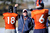 Denver Broncos head coach John Fox talks with Peyton Manning during practice Thursday, January 3, 2013 at Dove Valley.  John Leyba, The Denver Post