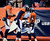 Denver Broncos wide receiver Trindon Holliday (11) celebrates with teammates after running the length of the field on a punt return scoring his second touchdown of the game early in the third quarter.  The Denver Broncos vs Baltimore Ravens AFC Divisional playoff game at Sports Authority Field Saturday January 12, 2013. (Photo by Hyoung Chang,/The Denver Post)